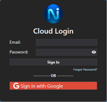 Sign In - Command